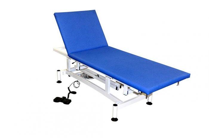 Divan d'Examen Electrique Vog Medical CAIX 2 plans 1111/80 Largeur 800 mm Bleu cobalt