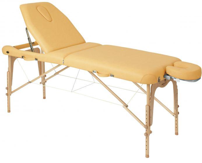 Table pliante en bois avec tendeurs Ecopostural C3616
