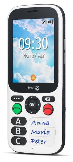 Téléphone portable senior Doro Secure 780X blanc