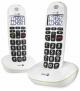 Téléphone fixe sans fil Doro Phone Easy 110 duo, blanc