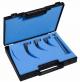 Coffret Laryngoscope F/O, 3 lames Miller n°00,0,1 et 1 manche Holtex