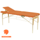Table de massage avec tendeurs Ecopostural hauteur fixe C3315-Clémentine 48 - 62 x 182 cm M41