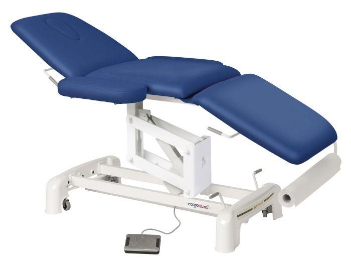 Table de massage électrique 3 plans avec accoudoirs Ecopostural C3516