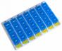 Pilulier hebdomadaire à 4 compartiments Hestec