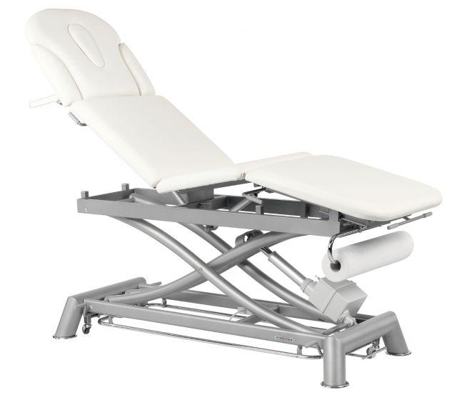 Table de massage électrique 4 plans 6 sections avec barres périphériques Ecopostural C7979