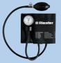 Tensiomètre Riester exacta, métal laqué, noir, brassard velcro Adulte