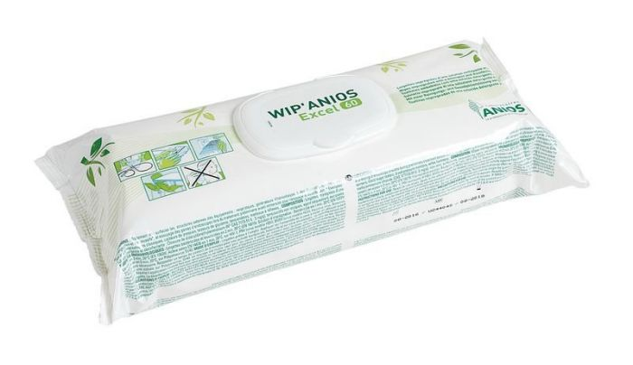 Lingettes en viscose 100% biodegradable WIP'ANIOS EXCEL 60