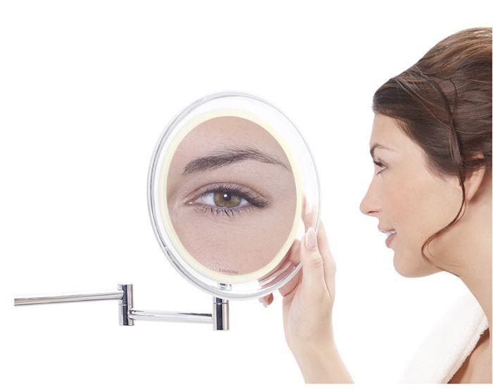 Miroir mural grossissant x10 Wall Mirror