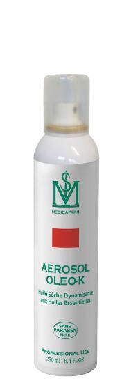 Aérosol OLEO-K Huile sèche Multi-usages aux HE Chaleur Douce Medicafarm 250 ml