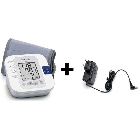 Pack tensiomètre électronique Omron M3 + adaptateur secteur