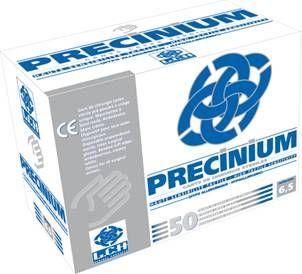 50 Gants de chirurgie stériles latex Precinium manchettes longues pré-poudrés LCH