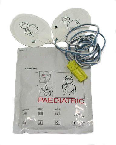 Electrodes collables Enfant Schiller pour FRED Easy Schiller