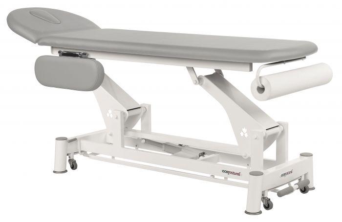 Table de massage électrique avec barre périphérique Ecopostural C5524 avec accoudoirs
