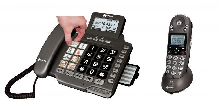 Téléphone amplifié Amplidect Combi 355 Geemarc