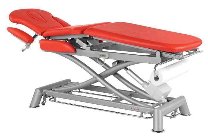 Table de massage électrique multi-fonction 3 plans avec accoudoirs Ecopostural C7931 62 x 200