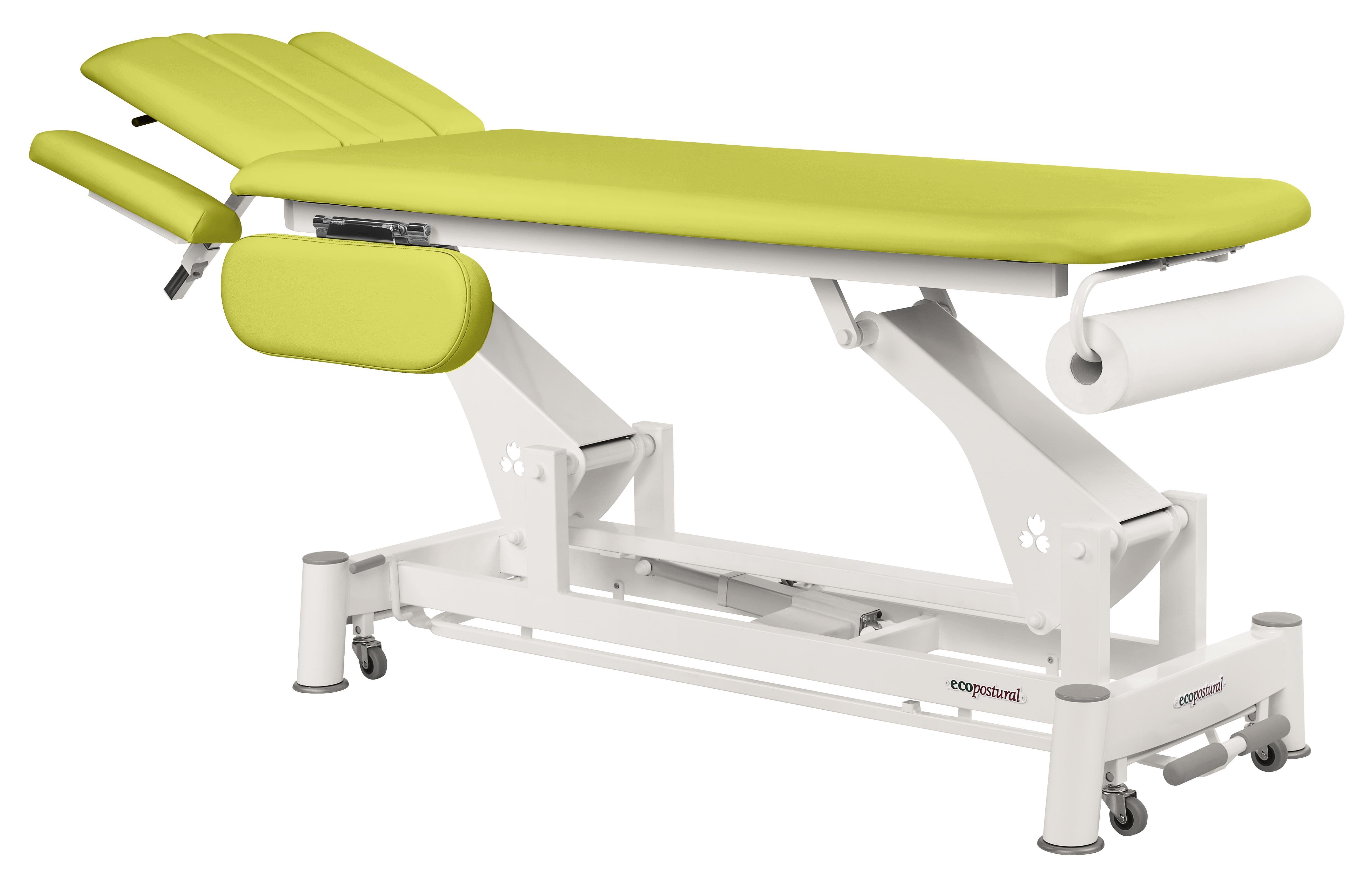 Table de massage électrique ostéo avec accoudoirs Ecopostural C6