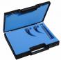 Coffret Laryngoscope Miller, 2 lames n°0,1 + manche Holtex