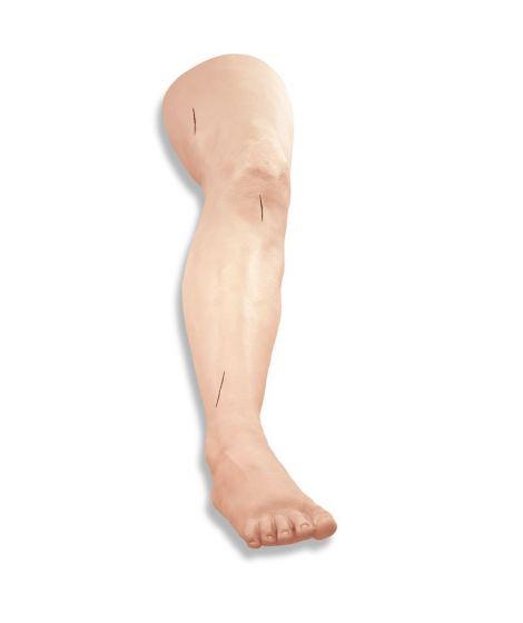 Simulateur de suture sur jambe R10024 Erler Zimmer