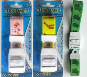 Garrot clipcomed modèle enfant Coloris vert