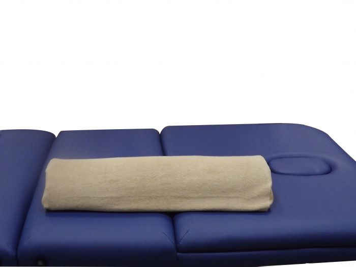 Housse pour coussin de massage demi-traversin en coton 280 gr Mediprem