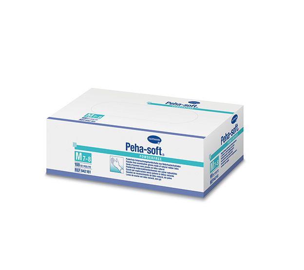 Gant d'examen en latex non poudrés Peha-soft ® powder-free boite de 100