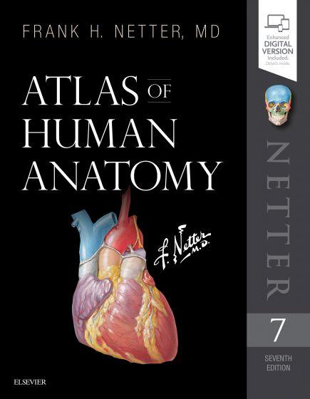 Livre, Atlas d'anatomie humaine, Franck H. Netter MD .7ème édition 2019 d'Elsevier Masson