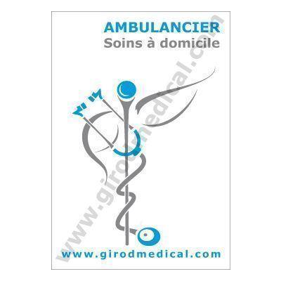 Caducée Ambulancier Girodmedical