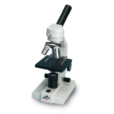 Microscope monoculaire de cours, modèle 100 LED (230 V, 50/60 Hz)