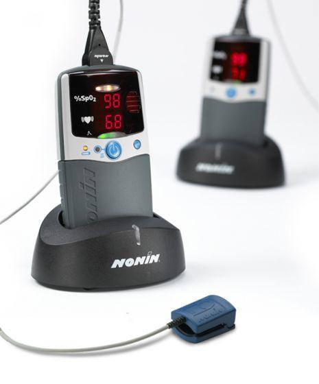 Oxymètre de pouls portable de poche Nonin PalmSAT® 2500A avec alarme