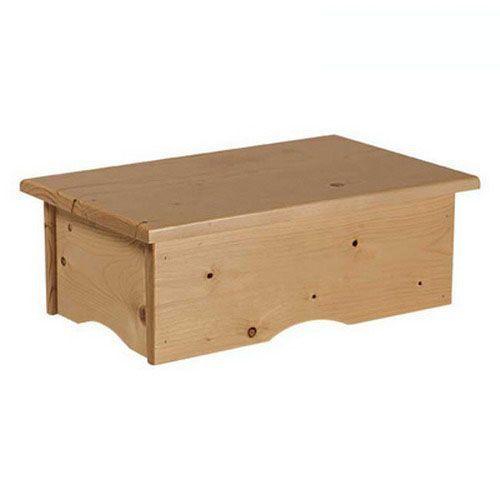 Marchepied en bois Ecopostural A4412