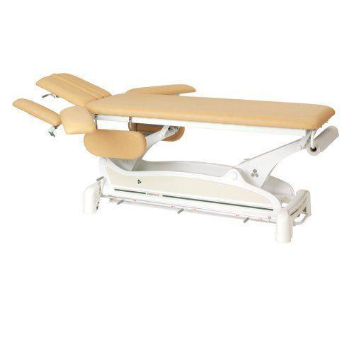 Table électrique avec accoud. barres périph. Ecopostural 3558M48