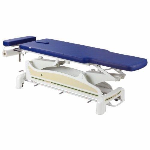 Table électrique barres périph. avec plateau à décrochement Ecopostural C3560M44