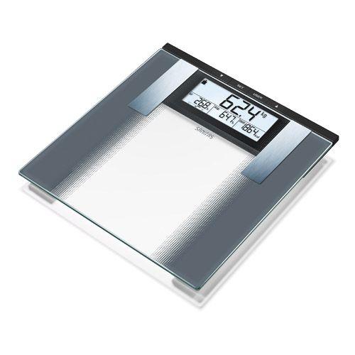 Pèse-personne impédancemètre en verre SBG 21 Sanitas