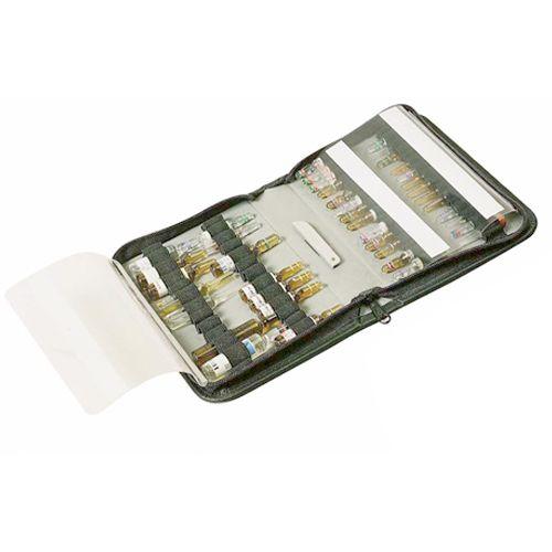 Ampoulier Bollmann 60 ampoules en cuir