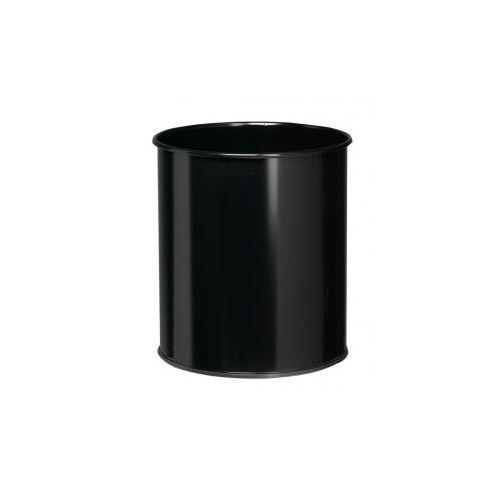 Corbeille à Papier métal 30L Noir Rossignol