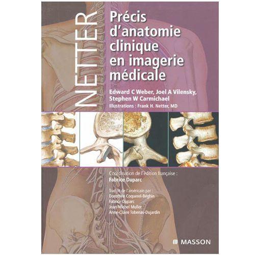 Livre, Précis d'anatomie clinique en imagerie médicale d'Elsevier Masson