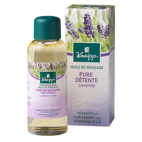 Huile de massage Kneipp Pure Détente Lavande 100 ml