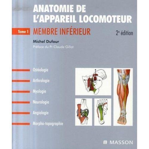 Livre, Anatomie de l'appareil locomoteur, tome 1 : membre inférieur Elsevier Masson