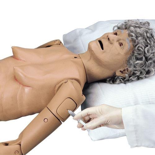 Mannequin de soins en gériatrie I W44077