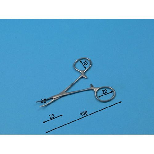Pince Micro Halstead courbé Holtex 10 cm