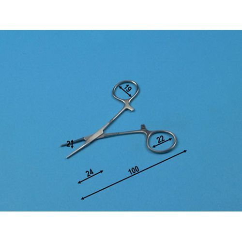 Pince Micro Halstead droite Holtex 10 cm