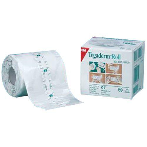 Pansement transparent adhésif semi-perméable 3M Tegaderm Roll – Non stérile