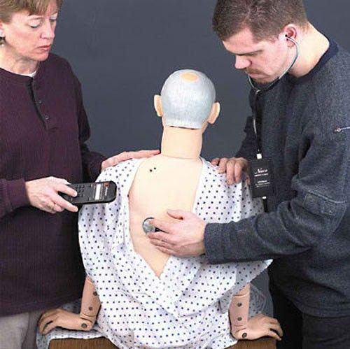 Kit d'Auscultation pour Mannequin GERI Erler Zimmer R10032