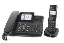 Doro Téléphone filaire Comfort 4005, Noir