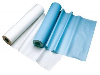 Draps d'examen Imperméable : 50 cm x 120 cm x 60, carton de 6 rouleaux Comed