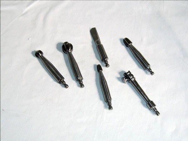 Fraises, set de 5 pièces + rallonge pour perforateur à main Hudson