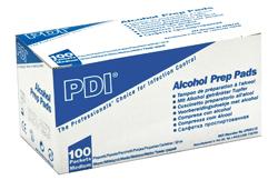 Tampons Alcool, boîte de 100 sachets