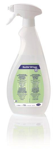 Nettoyant désinfectant de surface Bacillol 30 Foam spray de 750ml