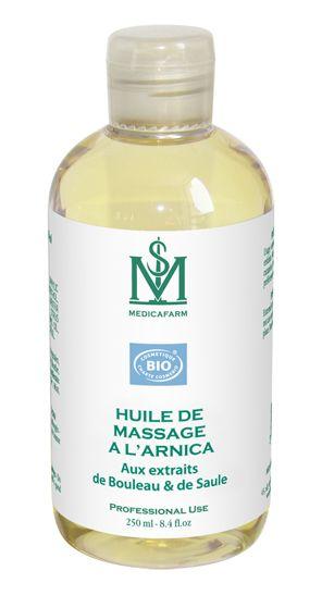 Huile de massage à l'arnica Bio Medicafarm Flacon 250 ml