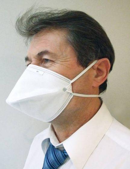 Masque de protection respiratoire FFP2 Bec de canard à usage unique LCH Sachet de 25 masques